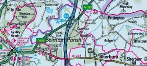 Belmont Parish Boundaries web small