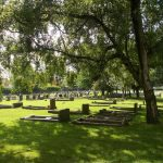 Belmont Cemetery Graveyard view