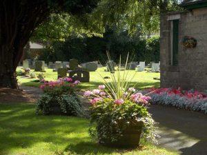 Belmont Cemetery Flower Baskets
